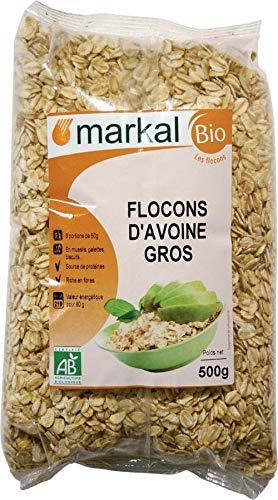 MARKAL Flocons d'avoine Gros 500G Bio -
