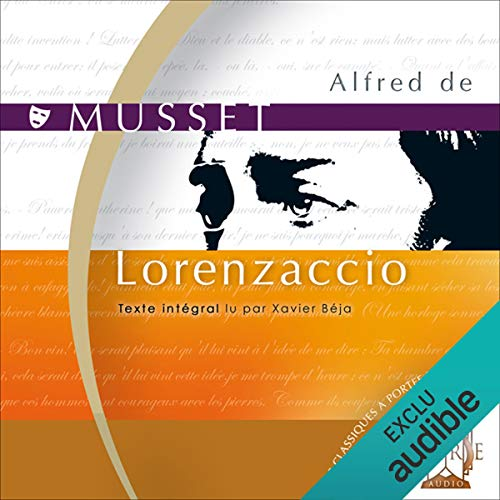 Lorenzaccio  audiobook cover art