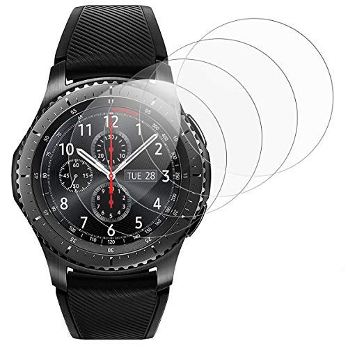 RSSYTZ [4 Unidades Protector de Pantalla para Samsung Watch 46mm/Gear S3 [9H...