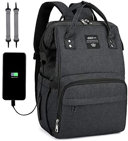 Diaper Bag Backpack COCOCKA Large Baby Bag with Changing Pad Travel Backpack Built in USB Charging product image