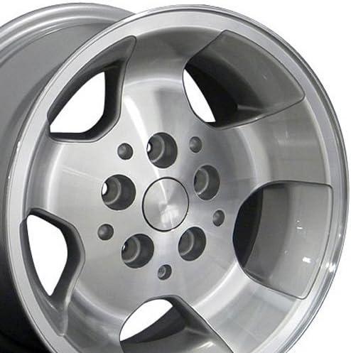 OE Wheels LLC 15 Elegant Inch Fit JP08 Mac Cherokee Silver Import Wrangler Jeep
