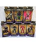 Diamond Select Marvel Legends Avengers Infinity War Thanos BAF Set of 7