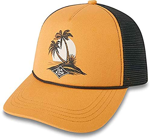 Dakine Island Palms Trucker, Berretto da Baseball Donna, Goldenglow, Taglia Unica