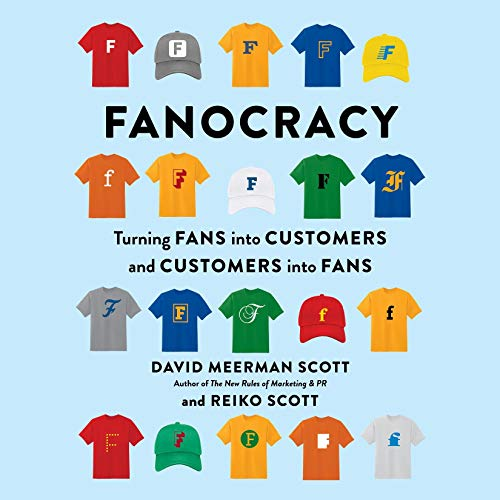 Fanocracy audiobook cover art