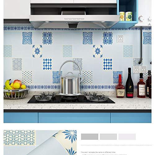 Life Adhesive voorste hert aquarel muur kast badkamer tegel behang zelfklevende muur Stickers 0.53 * 5m 3