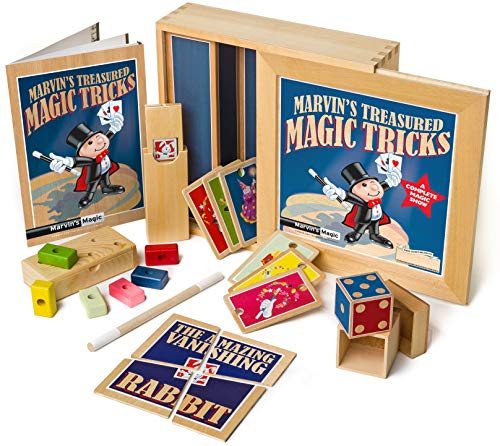 Marvin's Magic Marvin's Treasured Magic Tricks Deluxe Wooden Magic Set, Multi