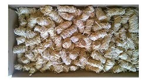 Amafino 5 kg Bio-Anzünder Grillanzünder für Kamin, Holz, Ofen BBQ und Grill; Holzwolle und Wachs