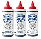 Bachan's - The Original Japanese Barbecue Sauce - Gluten Free, 17 Ounces. Small Batch, Non GMO, No Preservatives, Vegan and BPA free (3 Pack)