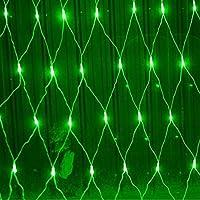 LEDネットライト、8モードコントロールフェアリーライト、屋内カーテンウォーターフォールライト、屋外防水ホリデーデコレーションライト 3x2m