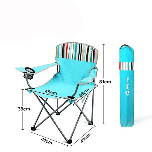 Be&xn Camping klappstuhl außen, Canvas Canvas Liegestühle Amerikanischen Lounge Chair Portable Ageln Stuhl Leisure Stuhl Liegestuhl Heavy-Duty 265 lb kapazität mit Tragetasche -E W46xH81cm(18x32inch)