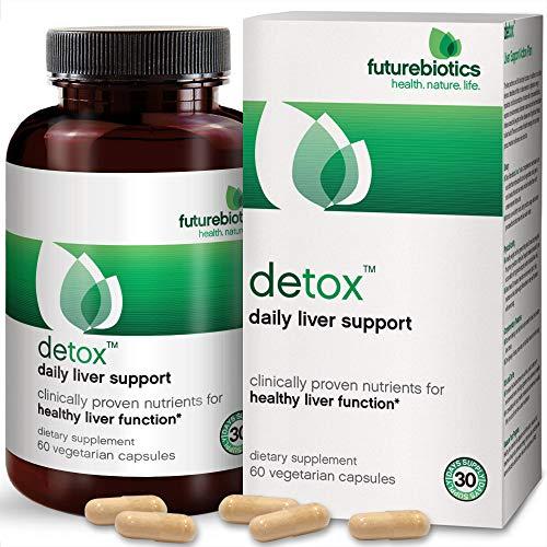 Futurebiotics Detox Daily Liver Support, 60 Vegetarian Capsules