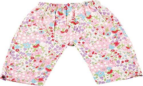 Götz 3402504 Stoffhose Mille Fleur für Babypuppen - Puppenkleidung Gr. S passend für Puppen von 30 - 33 cm