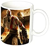 God of War Kratos Taza Ceramica