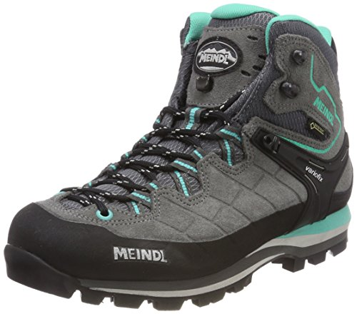 Meindl Unisex Litepeak Lady GTX Trekking-& Wanderstiefel, Grau (Anthrazit/Türkis 31), 38 EU