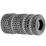 Terache 20x6-10 18x10-8 ATV UTV Tires 6 PR Tubeless TFORCE_MX [Bundle]