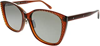 Sunglasses Bottega Veneta BV 0218 SK- 003 BROWN/SILVER