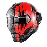 Casco Moto Iron Man