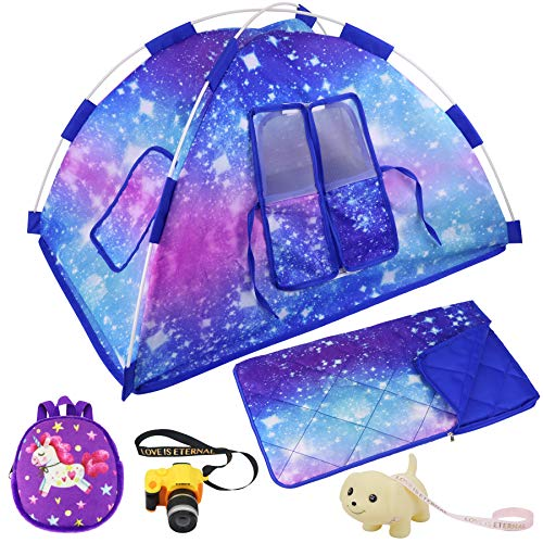 Ecore Fun Camping Set for 18-Inch Dolls (5-Piece)