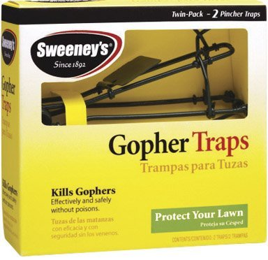 Sweeney#039s Gopher Trap 2 Pack S9013 Two boxes of 2 traps 4 Total