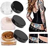 MQFORU Tattoo Concealer, Upgrade Professional Waterproof Skin Camouflage Cream Scar Hiding Tattoo Cover