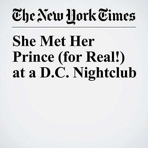 She Met Her Prince (for Real!) at a D.C. Nightclub copertina