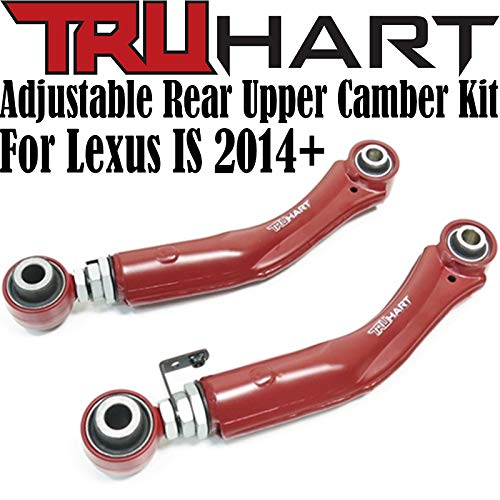 TruHart Rear Adjustable Camber Control Arms for 2014+ Lexus IS300 / IS350 2015-2019 (RWD ONLY)