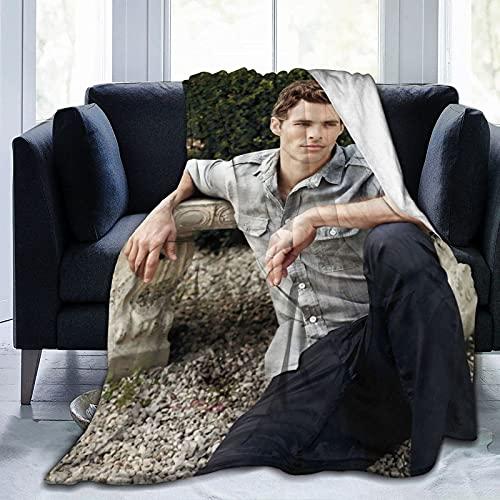 James Marsden Scott Summers - Manta de playa suave y cómoda para picnic, manta de forro polar para sofá, cama de oficina, coche, camping, sofá de 80 x 60 pulgadas