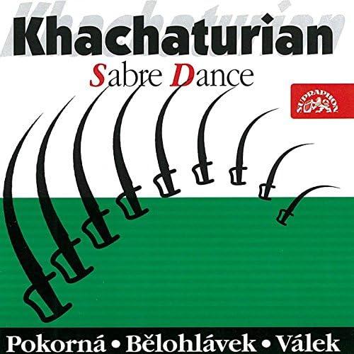 Mirka Pokorná, Jiří Trávníček, Jiří Bělohlávek, Vladimír Válek, Brno Philharmonic Orchestra, Prague Symphony Orchestra