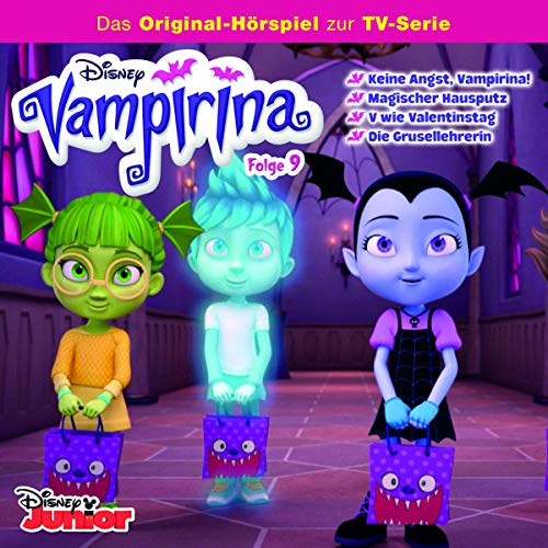 Keine Angst, Vampirina! / Magischer Hausputz / V wie Valenstinstag / Die Grusellehrerin Titelbild