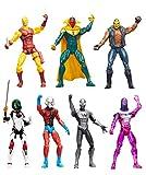 Marvel Legends Vision, Armored Spider-Man, Gamora, Living Laser, Rage, Daredevil and Ant-Man 3 3/4-Inch Action Figures by Husbro