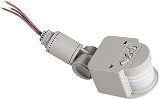 FTVOGUE Outdoor 90~250V 180 Degree Infrared PIR Motion Sensor Detector Wall Light Switch Gray