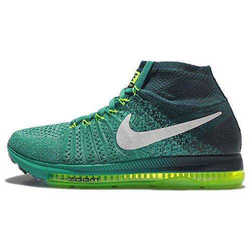 Nike 845361-313, Scarpe da Trail Running Donna, Azzurro, Verde, Bianco, Turchese, Lime (Azul Clear Jade White Midnight Turq Volt), 38.5 EU