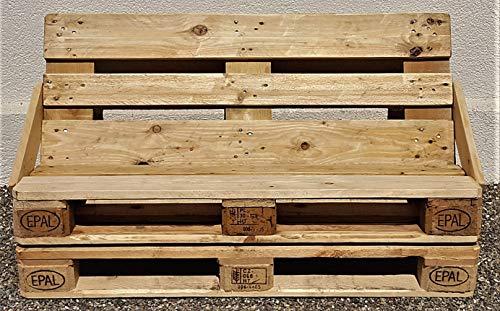 Bank aus Palette Sitzbank Chill- Sofa Lounge Holzbank vintage Gartenbank industrial Bank Shabby Chic Palettenbank antik Palettenmöbel altholz - 2
