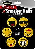 スニーカーボール(Sneaker Balls) 消臭剤 スニーカーボール ハッピーフィート イエロー 6個入り バリューパック 約90日香り持続 【香り:フレッシュ クリーン】 21574