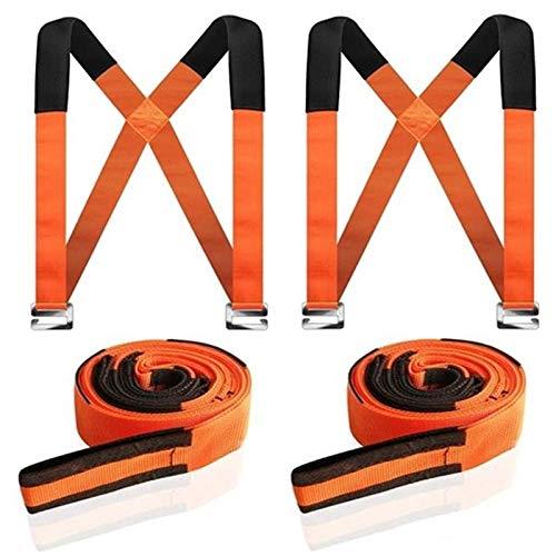 Meubellifter bewegende banden, 2 persoon schouder bewegende riemen, tillen en verplaatsen systeem gemakkelijk dragen voor meubels, matrassen, apparaten elk zwaar voorwerp