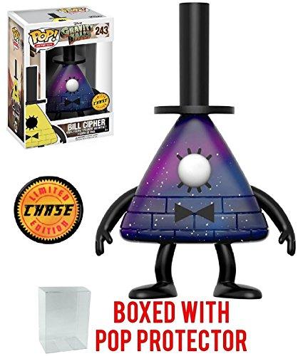 Funko Pop! Disney: Gravity Falls - Bill Cipher Purple Chase Variant Vinyl Figure (Includes Pop Box Protector Case)