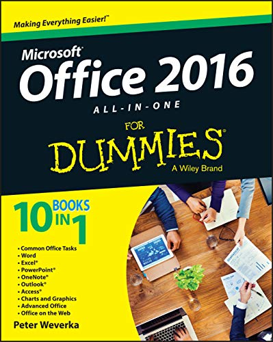 Office 2016 All-In-One For Dummies (Office All-in-One for Dummies)