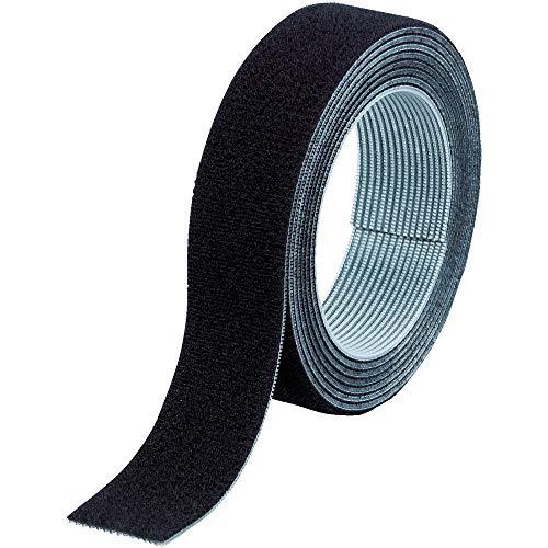 TRUSCO マジックバンド結束テープ 両面 黒 20mm×1.5m MKT2015BK