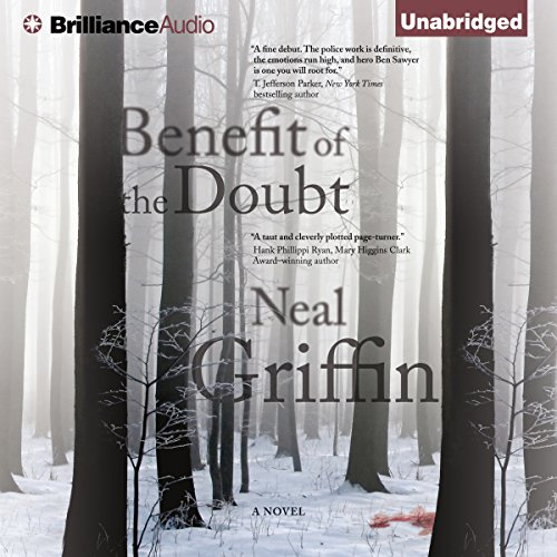Benefit of the Doubt audiobook cover art