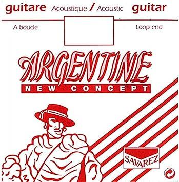 Savarez Cuerdas Para Guitarra Acustica Argentine La5-1015Mf, Con Lazo