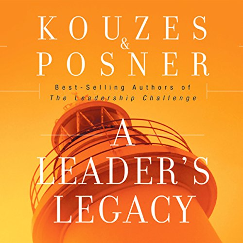 A Leader's Legacy audiobook cover art