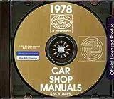 1978 FORD REPAIR SHOP & SERVICE MANUAL CD - Thunderbird, Mustang II, Fairmont, Zephyr, Granada, Monarch, Pinto