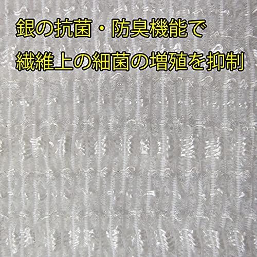 東和産業ボディタオルすご泡銀抗菌すご泡銀抗菌ナイロンタオルかためグレー