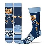FBF Originals NFL Tennessee Titans Madness Promo Mascot T-Rac Socks One Size Fits Most