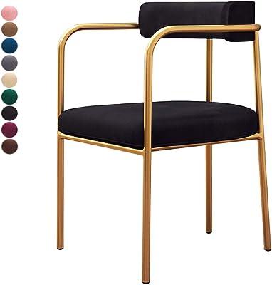 Amazon.com: modway cabina Side silla de comedor en blanco ...