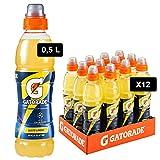 Gatorade, Sport Drink, Bevanda sportiva non Gassata Gusto Limone, Aiuta il Reintegro dei Sali Minerali Persi, Formato da 12x500 ml