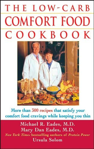 The Low Carb Comfort Food Cookbook product image
