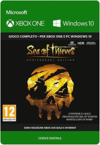 Sea of Thieves: Anniversary Edition   Xbox One/Win 10 PC - Download Code