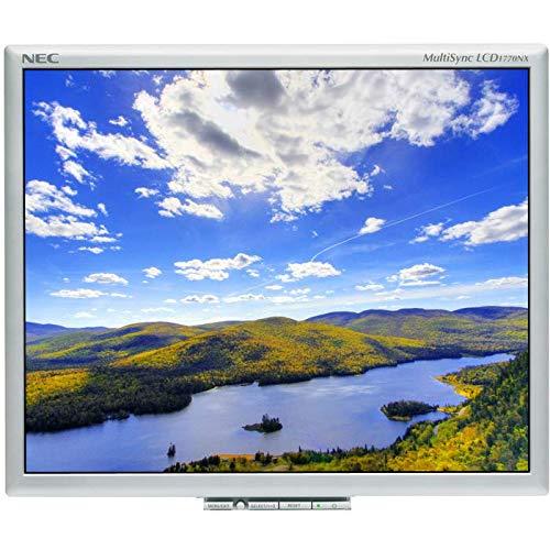 "Monitor 17"" NEC LCD1770NX Plata Usado SIN PEANA"