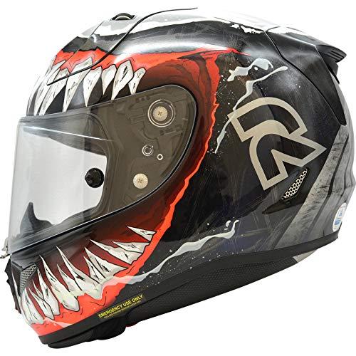 Casco Moto Hjc Rpha 11 Venom 2 Mc1 Rosso (M, Rosso)